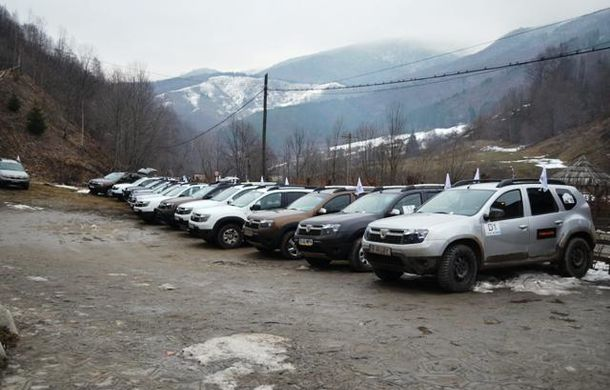Participare record la a patra întâlnire a clubului posesorilor de Dacia Duster din România - Poza 4