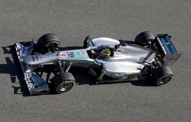 Teste Barcelona, ziua 1: Rosberg, cel mai bun timp !
