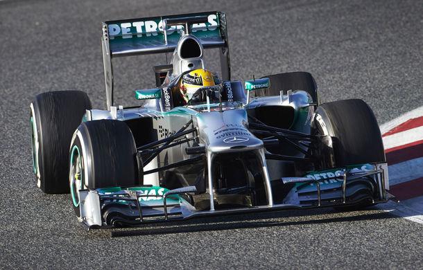 Hamilton încheie testele de la Barcelona pe primul loc !