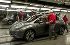 Nissan a început producţia europeană a lui Leaf
