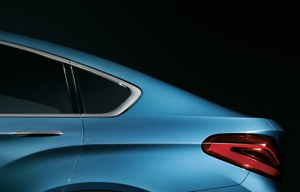 BMW X4 Concept: fotografiile oficiale cu fratele mai mic al lui X6 - Poza 3