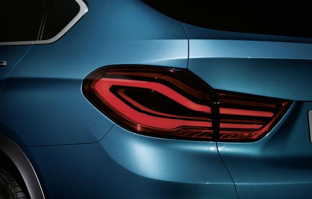 BMW X4 Concept: fotografiile oficiale cu fratele mai mic al lui X6 - Poza 2