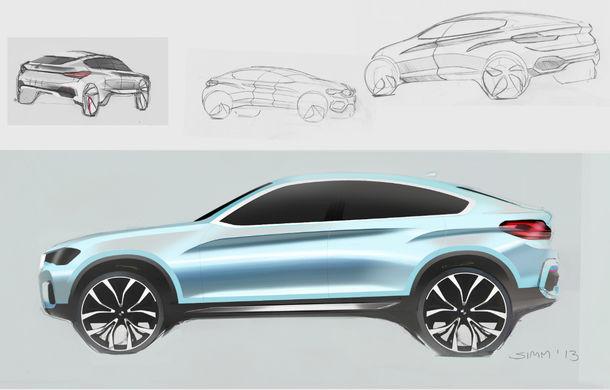 BMW X4 Concept: fotografiile oficiale cu fratele mai mic al lui X6 - Poza 8