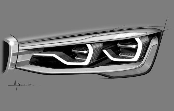 BMW X4 Concept: fotografiile oficiale cu fratele mai mic al lui X6 - Poza 9
