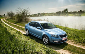 Test drive Skoda Octavia