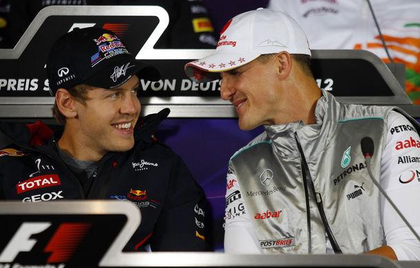 Schumacher crede că Vettel îi poate egala recordul de şapte titluri mondiale - Poza 1