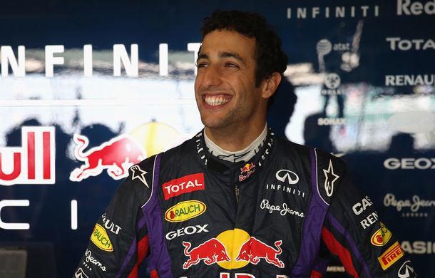 OFICIAL: Ricciardo va concura pentru Red Bull