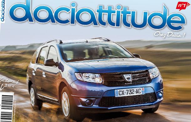 Daciattitude: prima revistă a pasionaţilor Dacia a fost lansată în Franţa - Poza 1