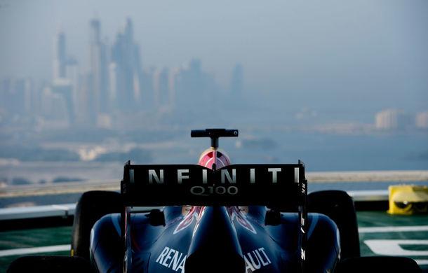 """Red Bull a sărbătorit titlurile cu """"cerculeţe"""" pe helipadul clăirii Burj Al Arab din Dubai - Poza 7"""
