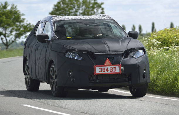 Noul Nissan Qashqai 2, prezentat sub camuflaj în fotografii oficiale - Poza 2