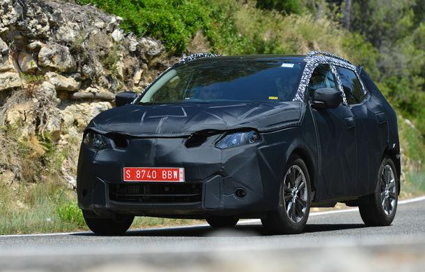 Noul Nissan Qashqai 2, prezentat sub camuflaj în fotografii oficiale - Poza 1