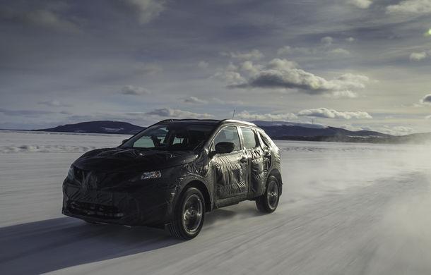 Noul Nissan Qashqai 2, prezentat sub camuflaj în fotografii oficiale - Poza 5