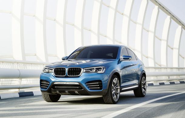 BMW X4 se va lansa în cadrul Salonului Auto de la Geneva - Poza 1