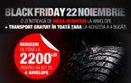 BLACK FRIDAY în Magazinul de Anvelope Automarket: până la 2200 de lei discount