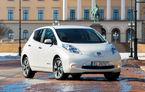 Nissan va modifica bateria electricului Leaf pentru a creşte durata de viaţă