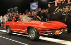 Un Chevrolet Corvette L88 din 1967 a fost vândut la licitație pentru 3.85 milioane dolari
