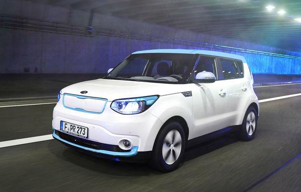 Kia Soul EV: prima electrică de serie a mărcii are 7 ani garanţie şi 200 km autonomie - Poza 2