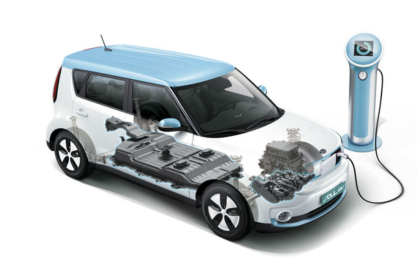Kia Soul EV: prima electrică de serie a mărcii are 7 ani garanţie şi 200 km autonomie - Poza 30