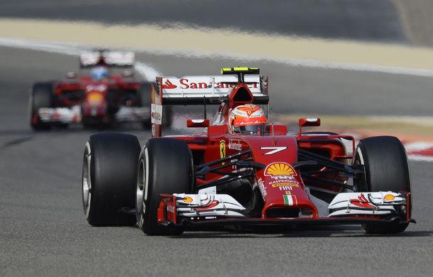 Raikkonen şi Alonso