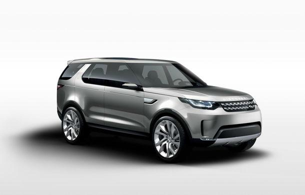 Land Rover Discovery Vision Concept anticipează viitoarea generaţie a SUV-ului britanic - Poza 1