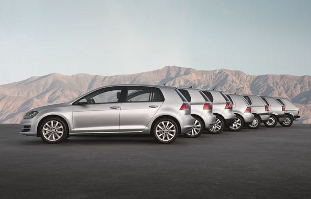 Maşini de poveste: 40 de ani de Volkswagen Golf - Poza 1