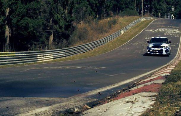 Range Rover Sport SVR este cel mai rapid SUV din lume pe Nurburgring - Poza 3