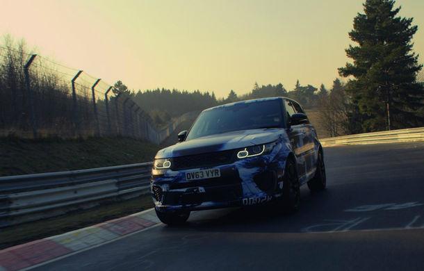 Range Rover Sport SVR este cel mai rapid SUV din lume pe Nurburgring - Poza 1