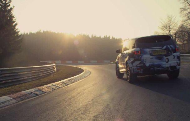 Range Rover Sport SVR este cel mai rapid SUV din lume pe Nurburgring - Poza 2