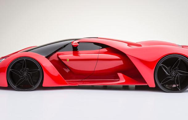 Ferrari F80: un supercar extrem imaginat de designerul Adriano Raeli - Poza 11