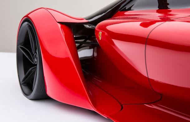 Ferrari F80: un supercar extrem imaginat de designerul Adriano Raeli - Poza 13