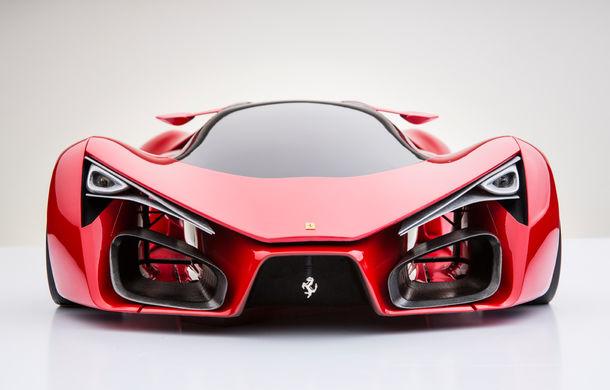 Ferrari F80: un supercar extrem imaginat de designerul Adriano Raeli - Poza 1
