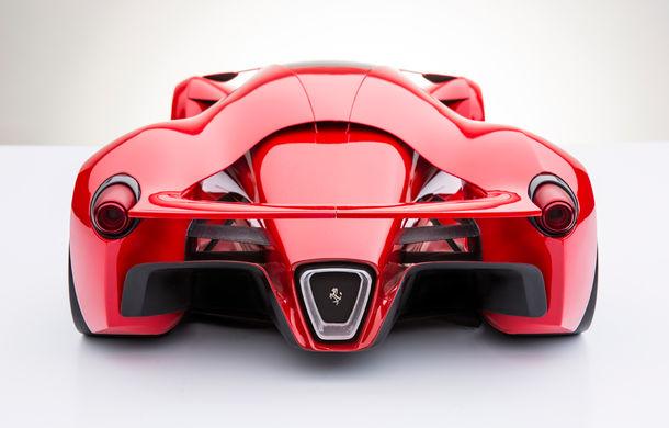 Ferrari F80: un supercar extrem imaginat de designerul Adriano Raeli - Poza 10
