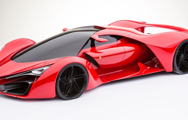 Ferrari F80: un supercar extrem imaginat de designerul Adriano Raeli - Poza 9