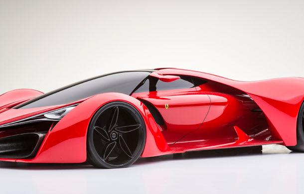 Ferrari F80: un supercar extrem imaginat de designerul Adriano Raeli - Poza 2
