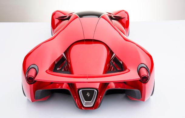 Ferrari F80: un supercar extrem imaginat de designerul Adriano Raeli - Poza 7