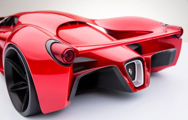 Ferrari F80: un supercar extrem imaginat de designerul Adriano Raeli - Poza 8