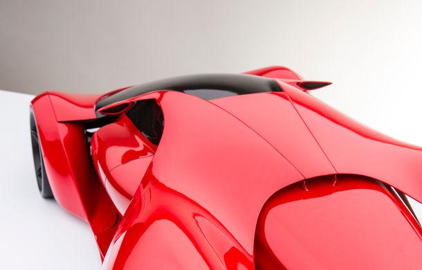 Ferrari F80: un supercar extrem imaginat de designerul Adriano Raeli - Poza 6