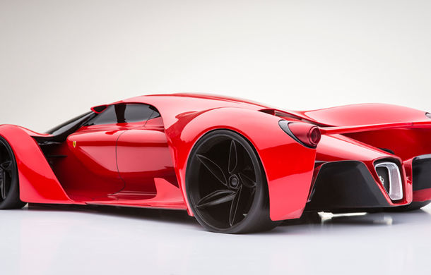 Ferrari F80: un supercar extrem imaginat de designerul Adriano Raeli - Poza 4