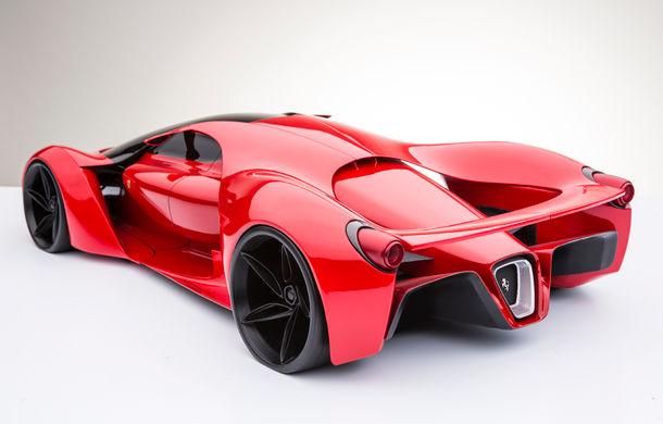 Ferrari F80: un supercar extrem imaginat de designerul Adriano Raeli - Poza 5