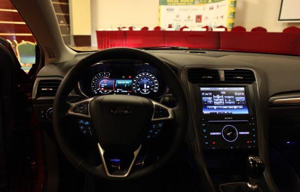 Noul Ford Mondeo a fost prezentat în avanpremieră în România - Poza 7