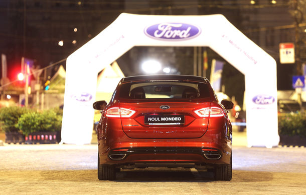 Noul Ford Mondeo a fost prezentat în avanpremieră în România - Poza 6