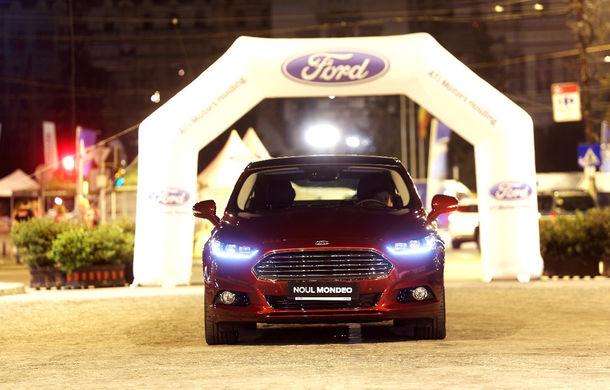 Noul Ford Mondeo a fost prezentat în avanpremieră în România - Poza 5