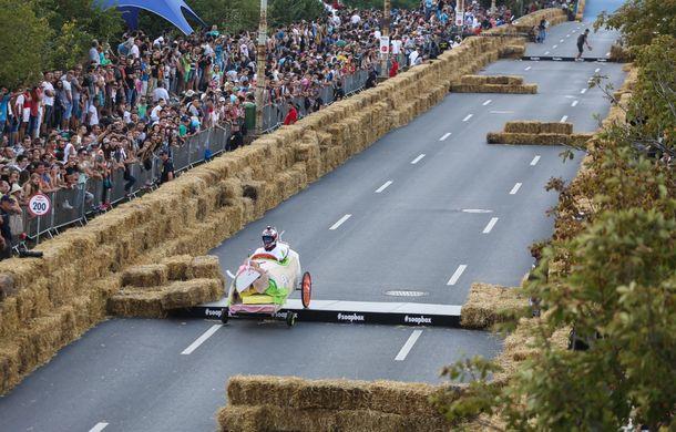 Red Bull Soapbox Race 2014: 51 de echipaje trăznite au luat startul în cursa automobilelor propulsate de gravitaţie - Poza 18