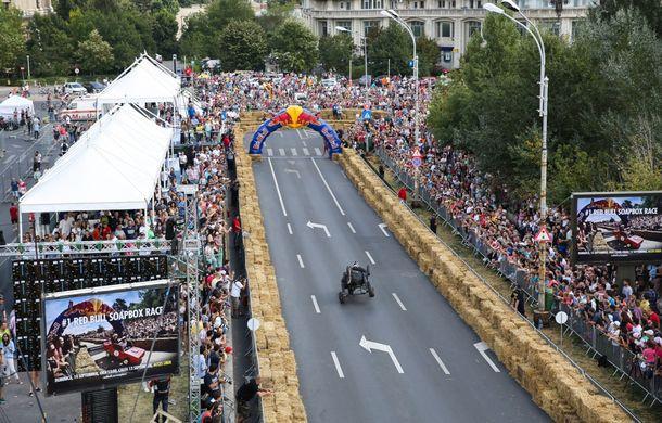 Red Bull Soapbox Race 2014: 51 de echipaje trăznite au luat startul în cursa automobilelor propulsate de gravitaţie - Poza 21