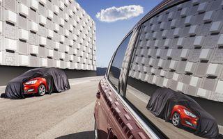 Ford C-Max: prima imagine teaser a facelift-ului care va debuta în octombrie