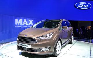 PARIS 2014 LIVE: Ford C-Max facelift primeşte actualizările aplicate lui Focus