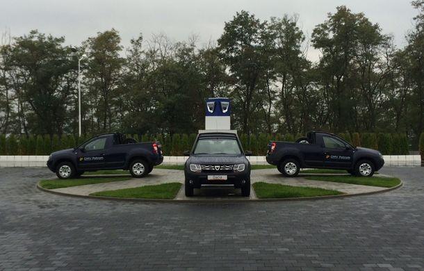 Dacia Duster Pick-Up: a doua versiune de caroserie a modelului este construită de un carosier român - Poza 5