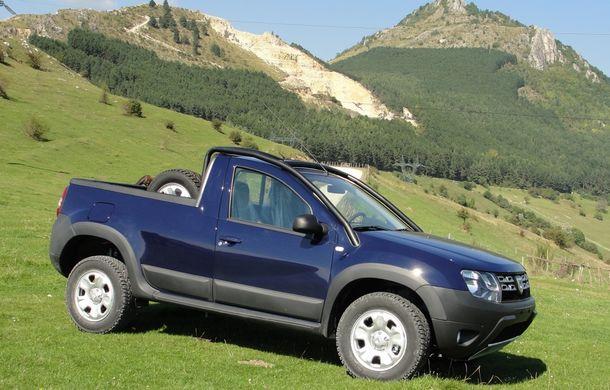 Dacia Duster Pick-Up: a doua versiune de caroserie a modelului este construită de un carosier român - Poza 3