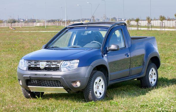 Dacia Duster Pick-Up: a doua versiune de caroserie a modelului este construită de un carosier român - Poza 2