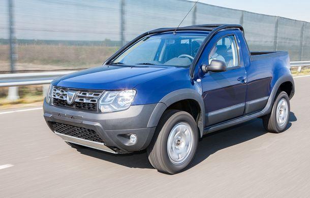 Dacia Duster Pick-Up: a doua versiune de caroserie a modelului este construită de un carosier român - Poza 1